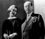 Adlai Stevenson at the Smith College Class of 1955 graduation, with his future daughter-in-law, Nancy Anderson.