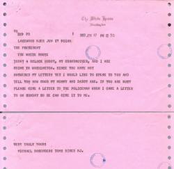 Michael Rosenberg telegram