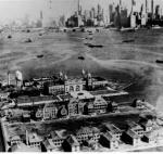 Ellis Island circa 1945