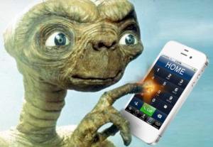 "E.T. ""Phone home"""