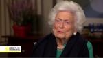 Barbara Bush on Trump