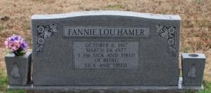 Fannie Lou Hamer Grave